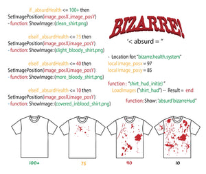 BLOOD SPLATTER CODING