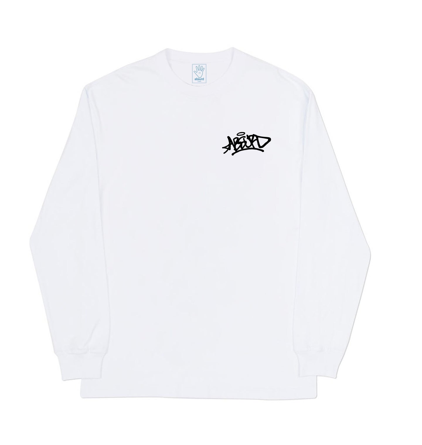 GRAFFITI LONG SLEEVE (WHITE)