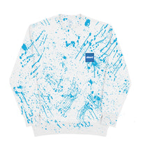 INK SPLATTER CREWNECK (WHITE)