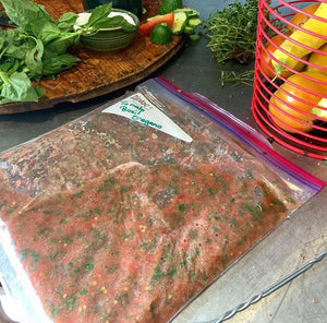 Recipes with Ris: A quick and easy freezer friendly tomato starter