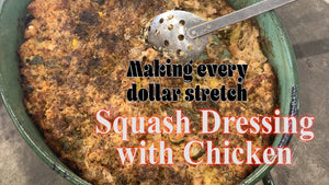 Squash dressing with chicken