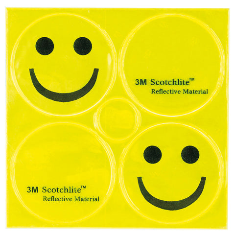 M-WAVE Reflickers Smile reflex stickers