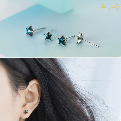 Star Shaped Ear Studs