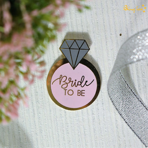 Bride To Be Lapel Pin