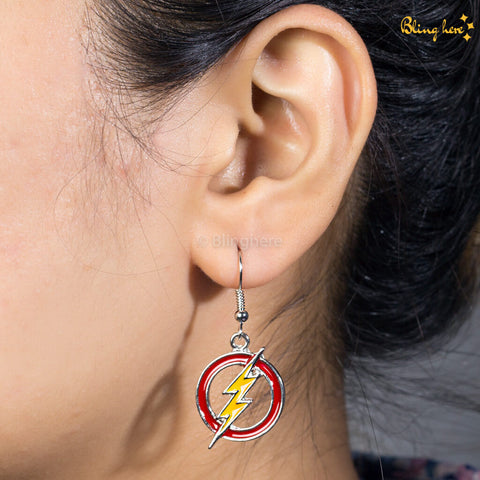 Official Flash Earrings