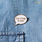 Future is Naps Metallic Lapel Pin - Set of 2