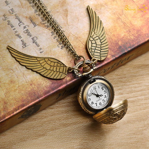 Official HP Snitch Necklace with Watch