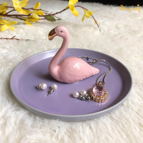 3D Flamingo Jewellery Holder Plate