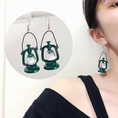 Lantern Shaped Earrings