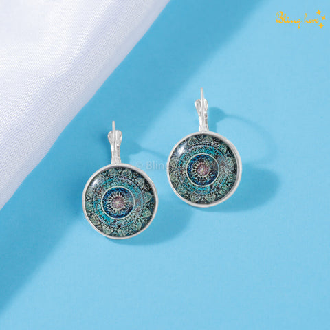 Mandala Vintage Earrings