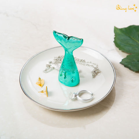 3D Mermaid Jewellery Holder Plate