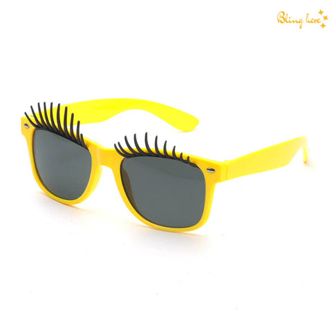 Sunglasses with Eye Lashes