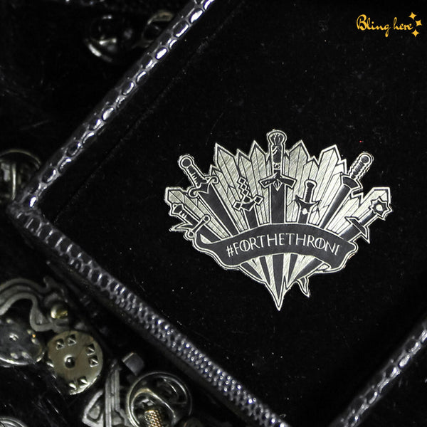 For The Throne Lapel Pin