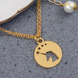 Unicorn Golden Bracelet