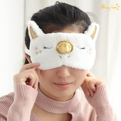 3D Unicorn Eye Mask
