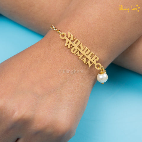 Wonder Woman Golden Bracelet