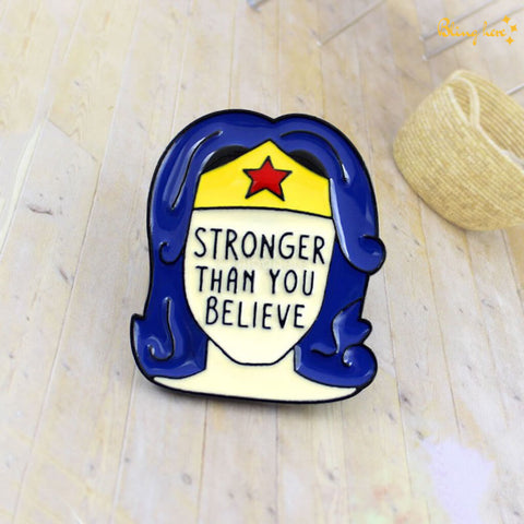 Wonder Woman Metallic Lapel Pin