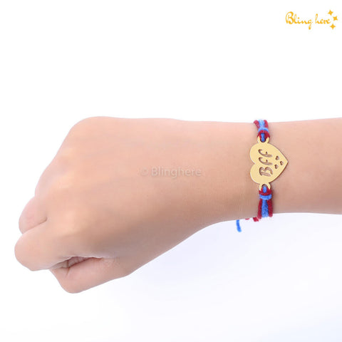 BFF Thread Knot Bracelet