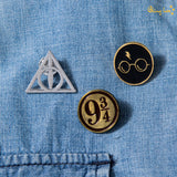 Harry Potter Classic Lapel Pins - Set of 3