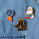 Harry Potter Wizardry Lapel Pins - Set of 3