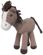Hand Crochet Horse Rattle Toy