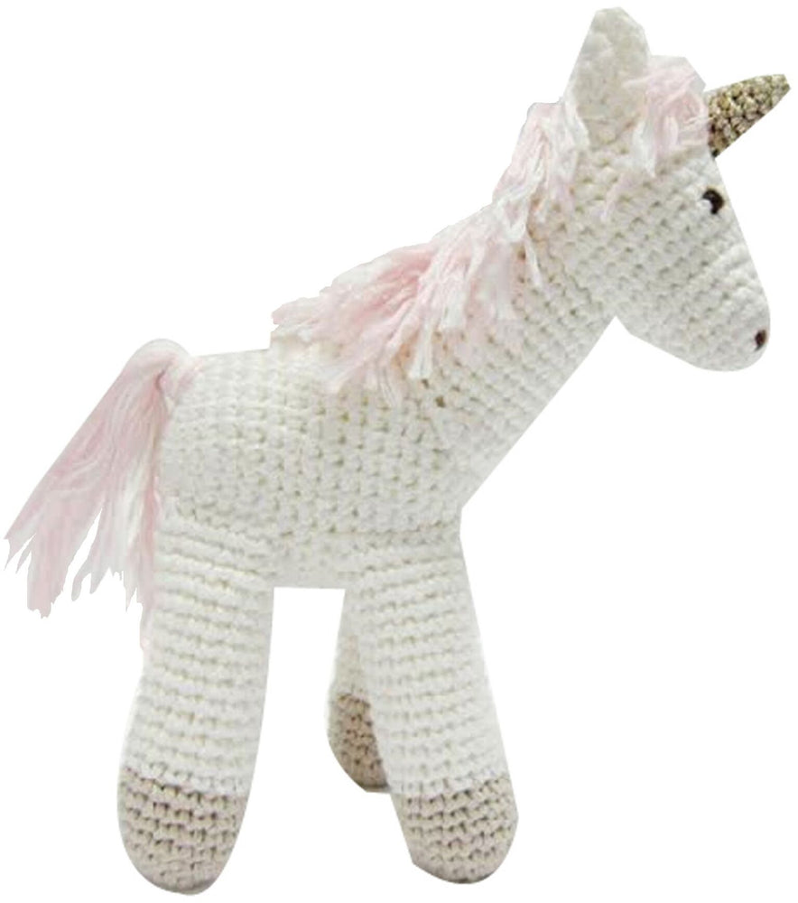 Hand Crochet Unicorn Toy