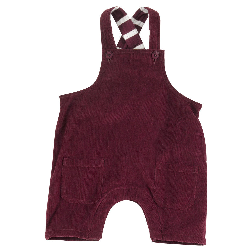 Dungarees in Fig