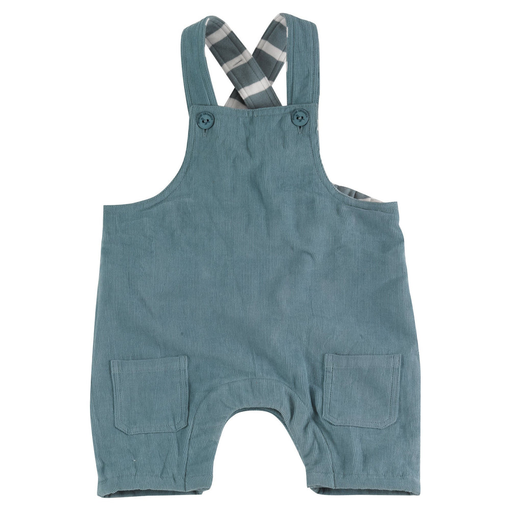 Dungarees in Smoke Blue