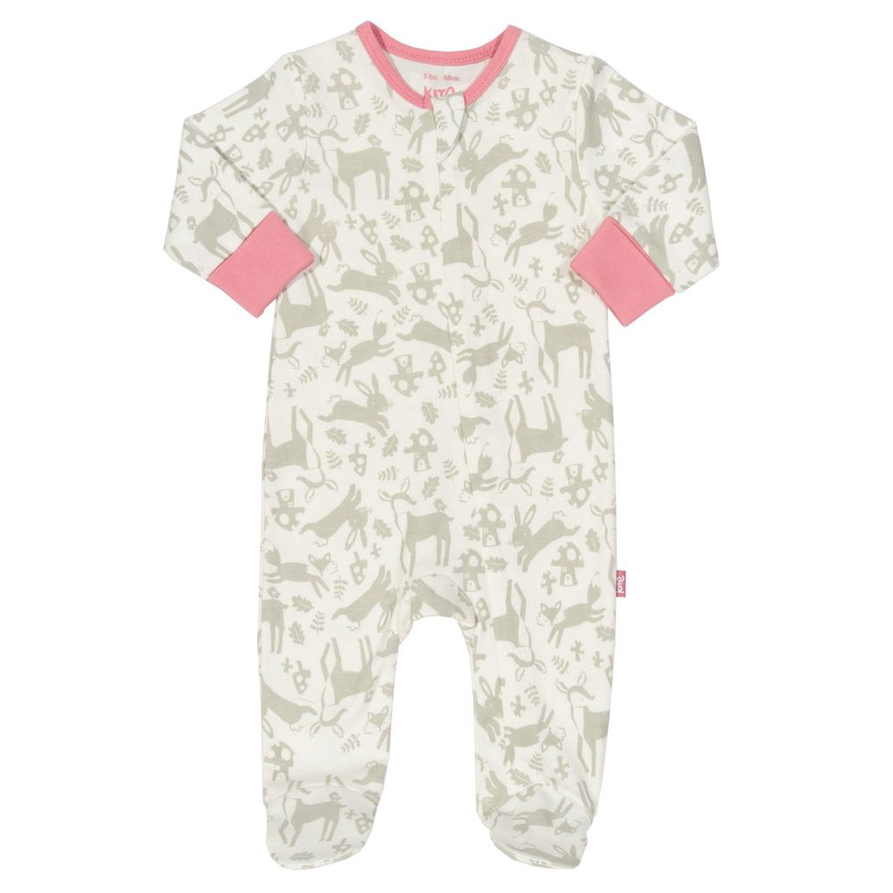 Toadstool Zip Sleepsuit