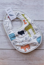 Noah's Ark No Mess on Me Bib