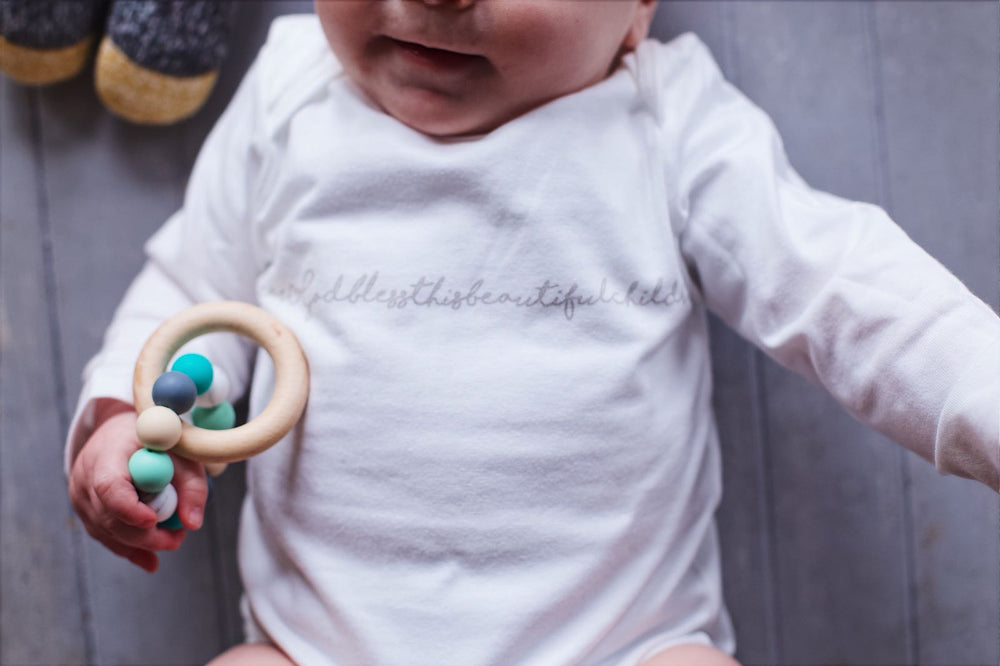 Turquoise Mix Ring Teether
