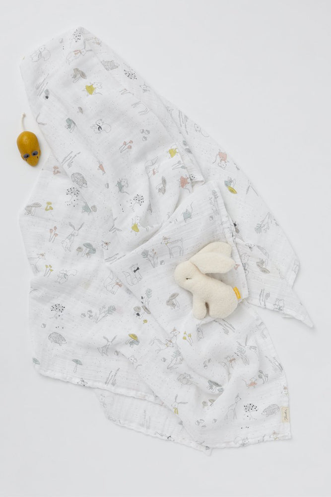 Magical Forest Muslin Swaddle