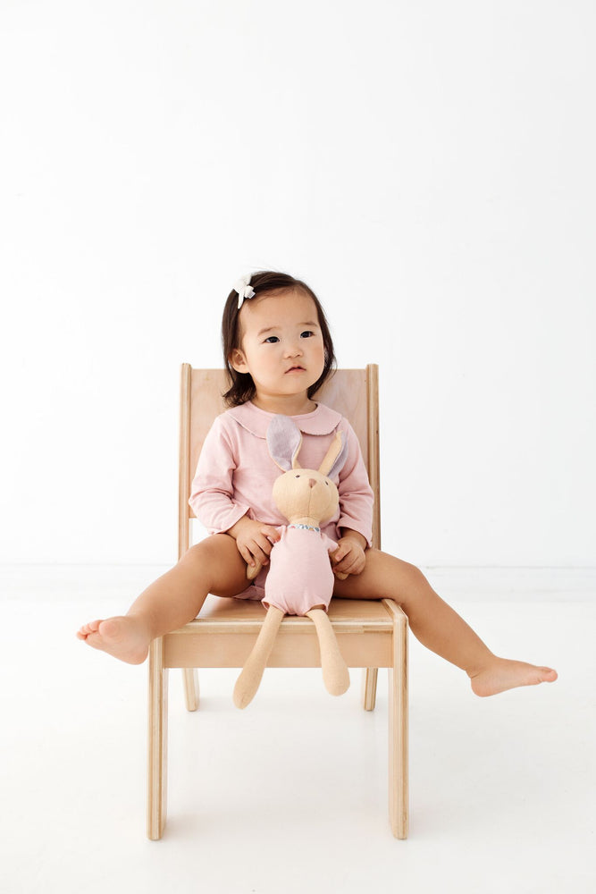 Annicke Mouse in Thistle Pink Romper