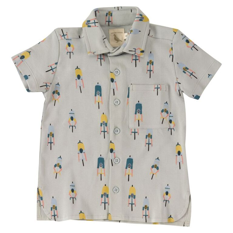 Printed Jersey Shirt - Cyclists