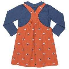 Foxy Pinafore Set
