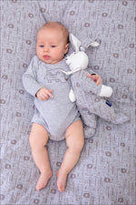 Rhino Bodysuit - Grey