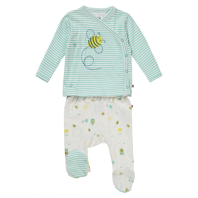 Honey Bee 2 piece baby set