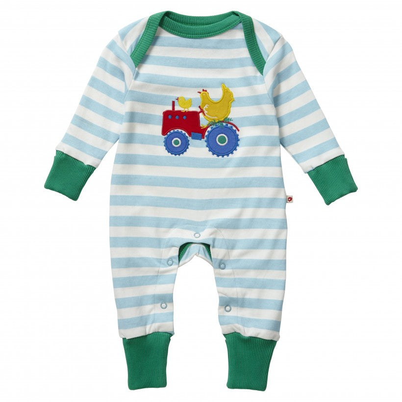 Farmyard Applique Playsuit