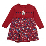 Bunny Print Baby Body Dress