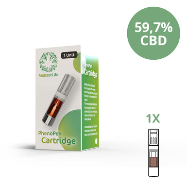PhenoPen Single 59,7% CBD Kartusche
