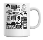 Tv Series Quotes Mug