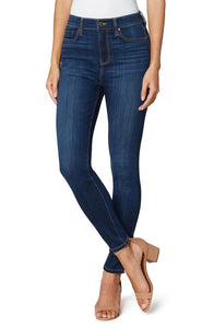 Medium Wash Hi-Rise Ankle Jean