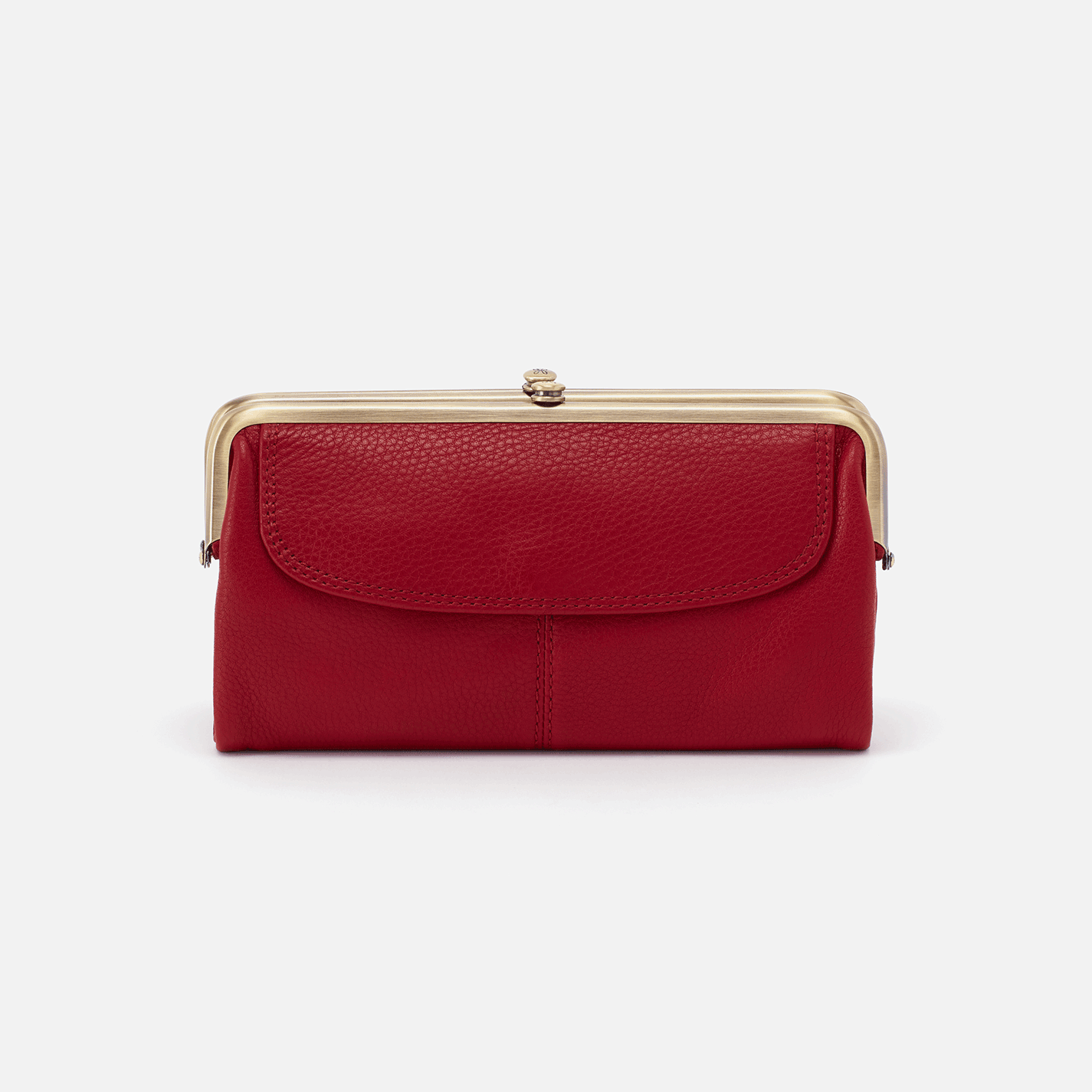 Scarlet Wallet With Flap