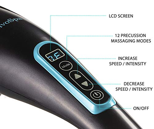 Handheld Percussion Back Massager