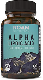 250mg Alpha Lipoic Acid 60 Vegetarian Capsules