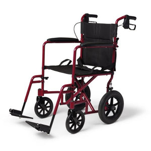 Lightweight Transport Adult Folding Wheelchair