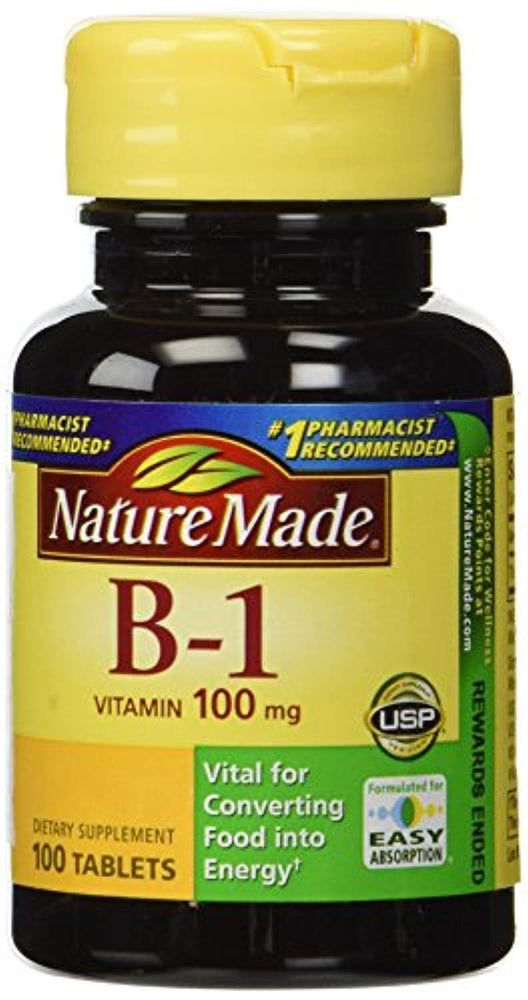 Vitamin B-1 100 mg, 100 Tablets (Pack of 3)