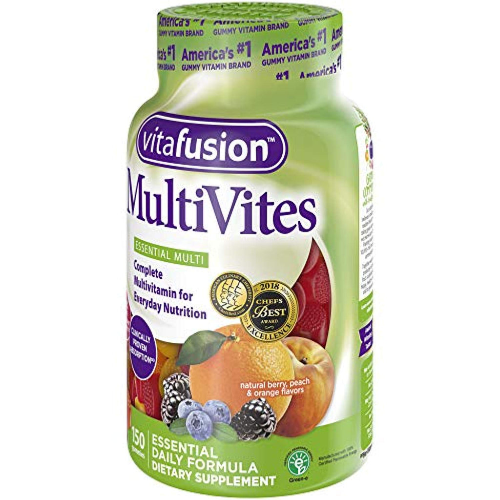 Adult's Chewable Gummy Multivitamin Dietary Supplement