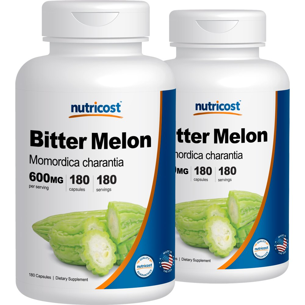 Bitter Melon 600mg, 180 Capsules