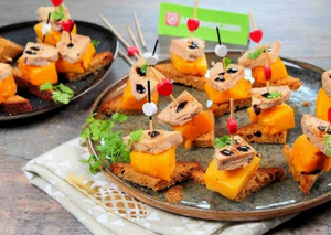 RECIPES: Aperitif bites of foie gras with mango